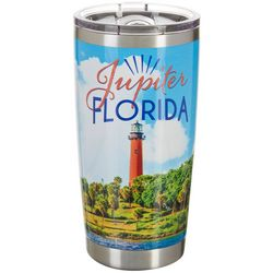 Tropix 20 oz. Stainless Steel Jupiter Florida Travel Tumbler