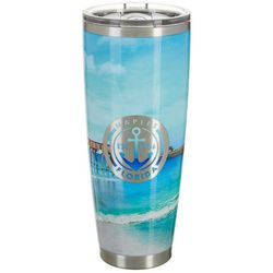 Tropix 30 oz. Stainless Steel Naples Florida Travel Tumbler