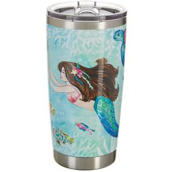 Tropix 20 oz. Stainless Steel Mermaid Best Friend Tumbler