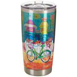 Leoma Lovegrove 20 oz. Stainless Steel Happy Place Tumbler