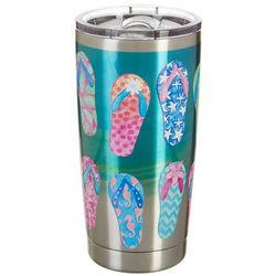 Tropix 20 oz. Stainless Steel Shoepalooza Tumbler