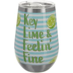 Key Lime Lexi 12 oz. Stainless Steel Feelin' Fine Tumbler