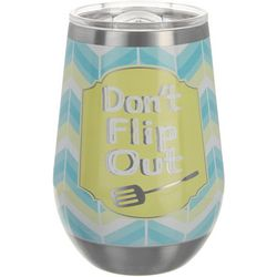 Key Lime Lexi 12 oz. Stainless Steel Flip Out Wine Tumbler