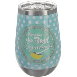 Key Lime Lexi 12 oz. Stainless Steel Best Ingredient Tumbler