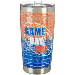Tropix 20 oz. Stainless Steel Game Day Cup Travel Tumbler