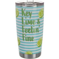 Key Lime Lexi 20 oz. Stainless Steel Feelin' Fine Tumbler