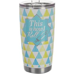 Key Lime Lexi 20 oz. Stainless Steel How I Roll Tumbler