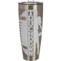 Tropix 30 oz. Stainless Steel Touchdown Travel Tum