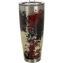 Tropix 30 oz. Stainless Steel Collegiate Splatter Tumbler