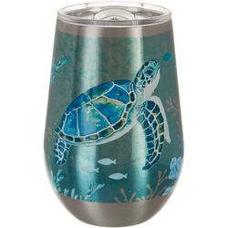 Coastal Home 12 oz. Stainless Steel Fanta Sea Wine Tumbler