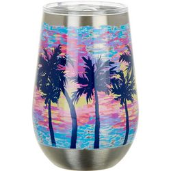 SunBay 12 oz. Stainless Steel Dabbled Suns Wine