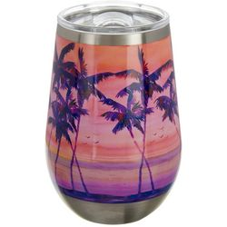 Ellen Negley 12 oz. Stainless Steel Shaded Sunset Wine Cup