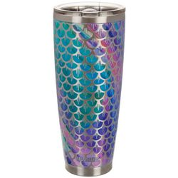 Reel Legends 30 oz. Stainless Steel Mermaid Scales Tumbler