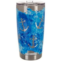 Reel Legends 20 oz Stainless Steel Watercolor Anchor