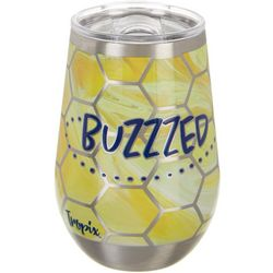 Tropix 12 oz. Stainless Steel Buzzed Wine Tumbler