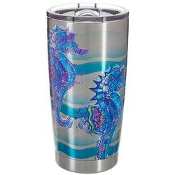 Reel Legends 20 oz. Stainless Steel Sketch Seahorse Tumbler