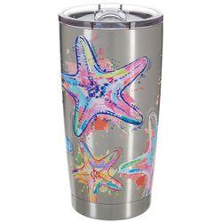 Reel Legends 20 oz. Stainless Steel Starfish Splash Tumbler