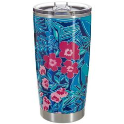 Lillie Green 20 oz. Stainless Steel Floral Prep Tumbler