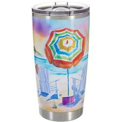 Ellen Negley 20 oz. Stainless Steel Island Dream Tumbler