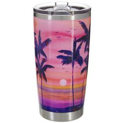Ellen Negley 20 oz. Stainless Steel Shaded Sunset Tumbler