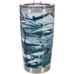 Reel Legends 20 oz. Stainless Steel Swimming Tuna Tumbler