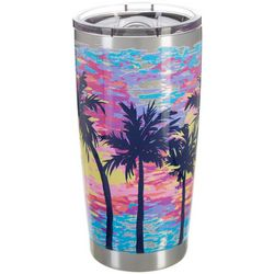 SunBay 20 oz. Stainless Steel Dabbled Suns Tumbler