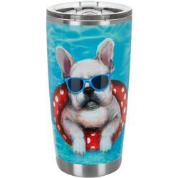 Tropix 20 oz. Stainless Steel Dog Days Travel Tumbler