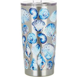 Coastal Home 20 oz. Stainless Steel Shell Coast Tumbler