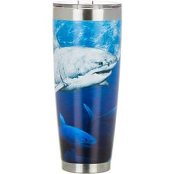 Reel Legends 30 oz. Stainless Steel Great Bite Tumbler