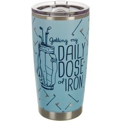 Golf America 20 oz. Stainless Steel Dose of Iron Tumbler