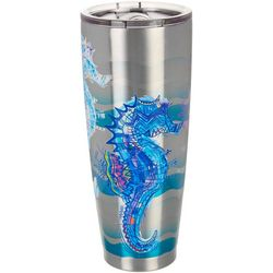 Reel Legends 30 oz. Stainless Steel Sketch Seahorse Tumbler