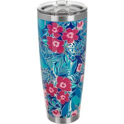 Lillie Green 30 oz. Stainless Steel Floral Prep Tumbler
