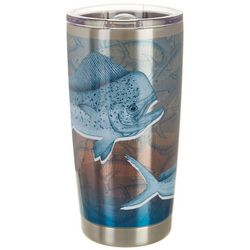 Reel Legends 20 oz. Stainless Steel Mahi Skin Tumbler