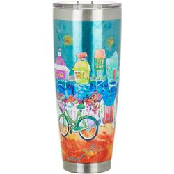 Leoma Lovegrove 30 oz. Stainless Steel Happy Place Tumbler