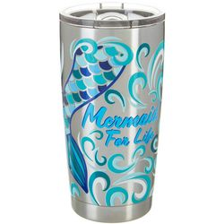Tropix 20 oz. Stainless Steel Mermaid Life Tumbler