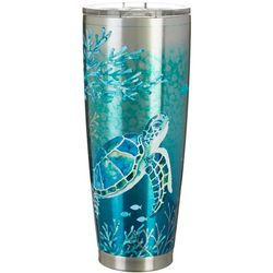 Coastal Home 30 oz. Stainless Steel FantaSea Tumbler
