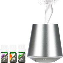 Aroma2go Silver Silent & Powerful Ultrasoinc Diffuser Set