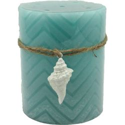 Coastal Home 4'' LED Chevron Candle