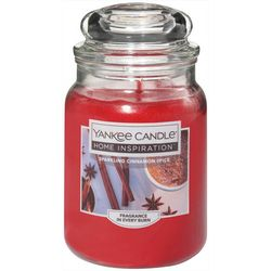 Yankee Candle 19 oz. Sparkling Cinnamon Spice Candle