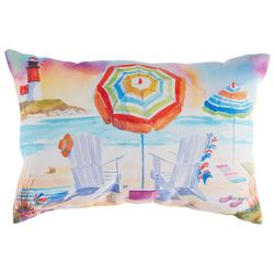 Ellen Negley Island Dream Decorative Outdoor Pillow