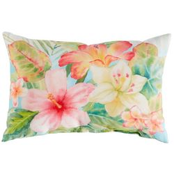Manual Woodworkers Tropical Island Decorative Outdoor Pillow
