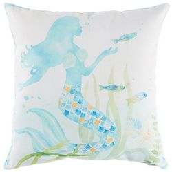 Manual Woodworkers Mermaid Dreams Decorative Pillow