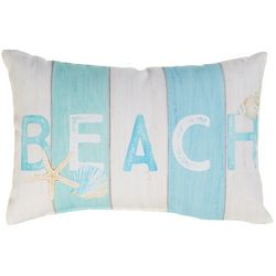 Manual Woodworkers Beach Decorative Pillow