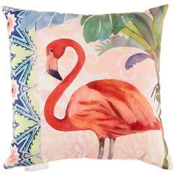 Manual Woodworkers Havana Flamingo Outdoor Decorative Pillow