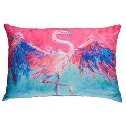 Leoma Lovegrove Rain Dance Outdoor Pillow