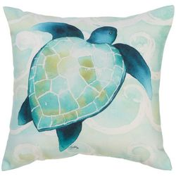 Manual Woodworkers Green Ocean Life Outdoor Pillow