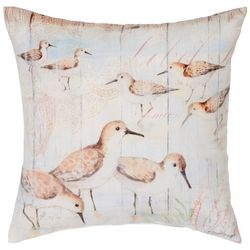 Manual Woodworkers Sandpiper Life Outdoor Decorative Pillow