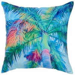 Manual Woodworkers Royal Palm Outdoor Pillow