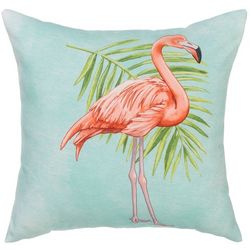 Manual Woodworkers Strutting Flamingo Outdoor Pillow