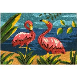 JD Yeatts Flamingo Coir Mat
